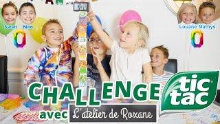 Video CHALLENGE TIC TAC | Swan & Néo VS Louane & Mathys de L'atelier de Roxane MP3, 3GP, MP4, WEBM, AVI, FLV Oktober 2017