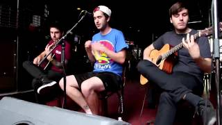 Real Friends | Dirty Water Acoutic (Pouzza Fest)