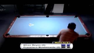 Bergen Open 9-Ball 2013 - Efren Reyes VS Fransisco Bustamante