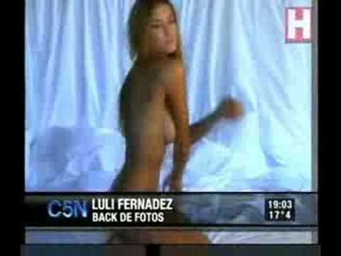 Luli Fernandez Baile del Caño en Tendencia