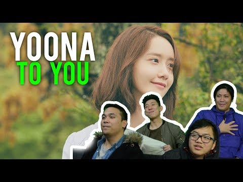 "YOONA Sings This Song ""TO YOU"" (MV REACTION)"
