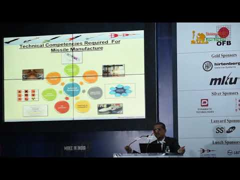 M Sreedhar Rao Presents Role of Bharat Dynamics Limited Into Missile Manufacturing