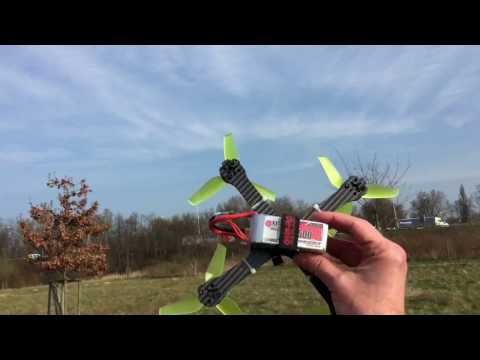 Flight Test 2 with X210 and Racerstar 5042 props