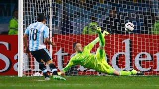 Penales Argentina Colombia Copa América Chile 2015 26 junio. Penal de Tevez! Gracias Romero! Like & Subscribite!