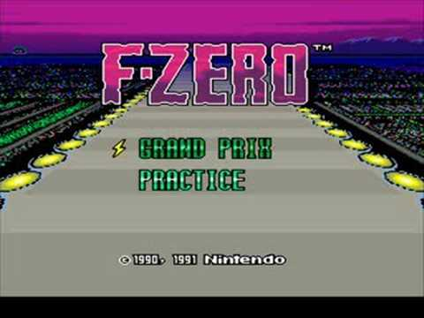 f-zero super nintendo soundtrack