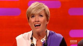 EMMA THOMPSON Flashed Her Saving Mr. Banks' Costars - The Graham Norton Show on BBC AMERICA