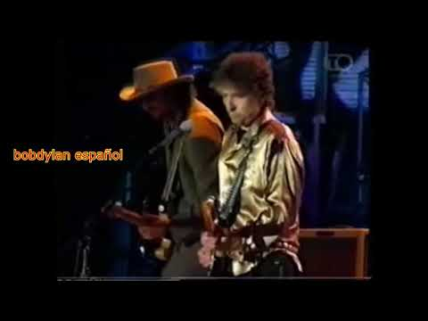 BOB DYLAN - All Along the Watchtower - ESPAÑOL ENGLISH