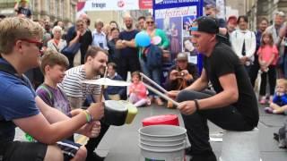 Video The Bucket Boy (Matthew Pretty) Edinburgh Fringe #1 MP3, 3GP, MP4, WEBM, AVI, FLV Maret 2019