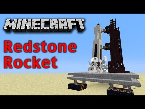 redstone - Hi Guys, This is my Minecraft Redstone Space Rocket Support my channel :) Thanks  Become a SILVERCREEPER Subscribe TODAY  http://bit.ly/WejMqC   ACii Ser...