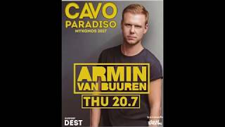 Amin Van Burren Thursday 20/7/2017 Mykonos live @Cavo Paradiso