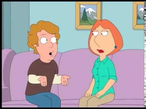 FAMILY GUY   Lois jumps Meg's boyfriend (видео)