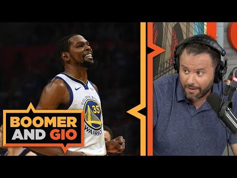 Video: Knicks LOSE OUT as Kevin Durant and Kyrie Irving will join the Nets | Boomer & Gio