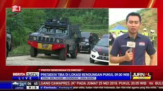Jokowi akan Tinjau Langsung Bendungan Kuningan Hari Ini