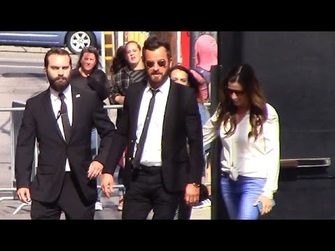 Justin Theroux Is A Ladykiller For His Jimmy Kimmel Appearance