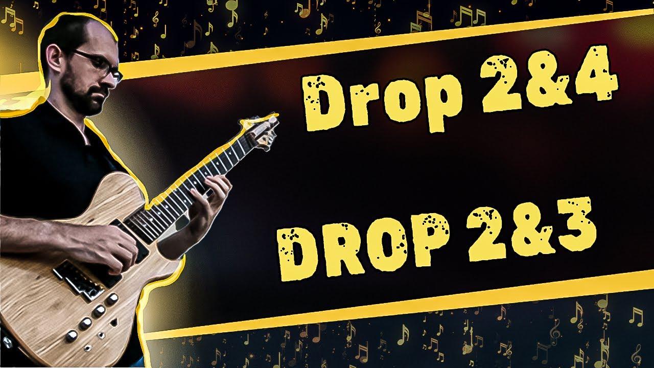 Jazz Guitar Lesson [Advanced]: Drop 2&4 and Drop 2&3 | Tom Lippincott – MMC Complete Class