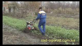 Мотоблок Гепард с активными роторами (Видео 1)