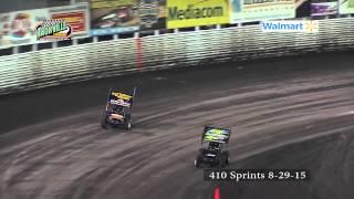 Knoxville Raceway 8-29-15 410 sprints