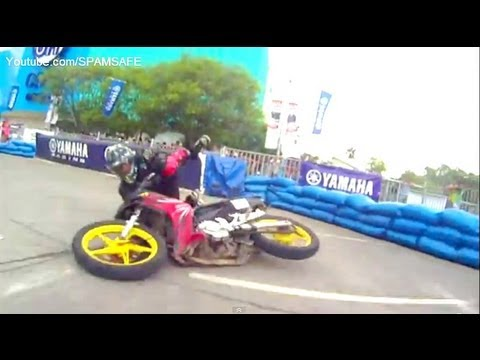 Yamaha GP Bloopers Drifting Racing 135LC Crypton X Sniper Jupiter Mx x1r scooterthon