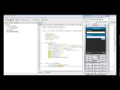 J2ME  # login sederhana