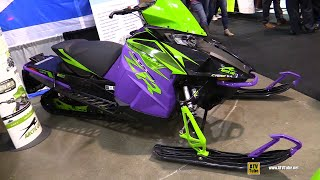 7. 2019 Arctic Cat ZR 6000 iAct Limited Sled - Walkaround - 2018 Toronto ATV Show