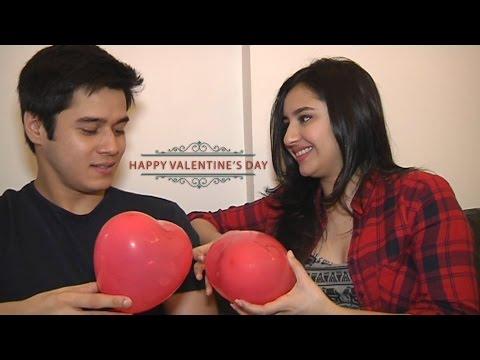 Anshuman and Sanaya celebrate Valntine's Day
