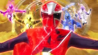 Power Ranger Ninja Steel  Batalla  - Capitulo 7: Ataque de Hackeo
