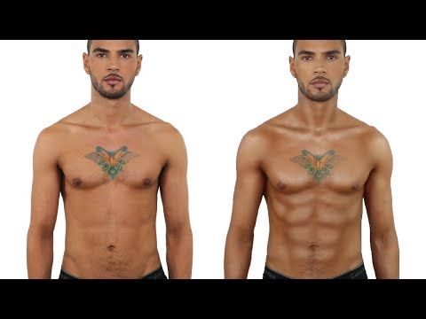 HOW TO CONTOUR MALE MUSCLES  JOHN MACLEAN