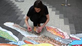 Check out how world renowned street artists 3D Joe & Max used 7,000 pieces of HARIBO Tangfastics to help us bring the Tang Taste Experience to life.