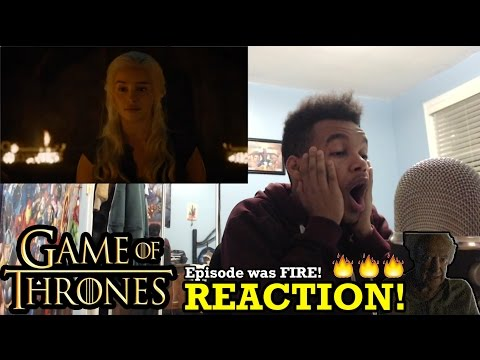 "Game of Thrones Season 6 Episode 4 ""Book of the Stranger"" REACTION!"