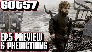 """Game of Thrones season 7 episode 5 preview & predictions for """"Eastwatch."""" A deeper look with new HBO photos for GoT s7 e5."""