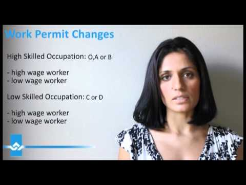 Canada Work Permit Changes Video