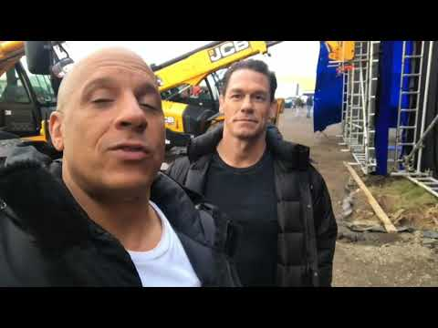 John Cena's Done Filming Fast and Furious 9!