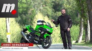 6. Kawasaki Ninja 400 | Prueba / Test / Review en español | motos.net