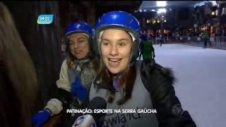 Reportagem de Paloma Poeta, sobre o parque de neve Snowland, em Gramado, na Serra gaúcha. Matéria exibida no Rio Grande Record. Apresentação de ...