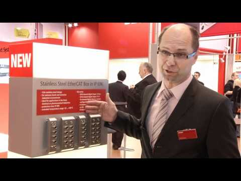 Beckhoff Day 4 Hannover Messe 2012 Trade Show