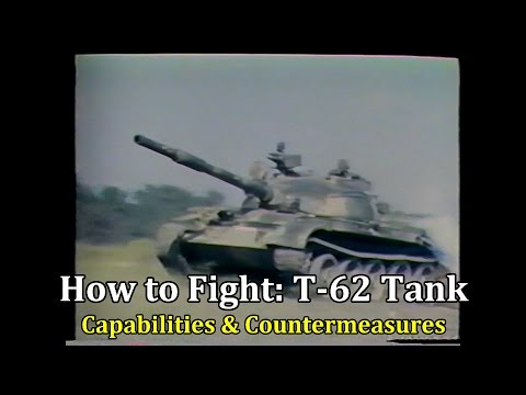 "Video. Documental del Ejército US ""How to fight the T-62"""