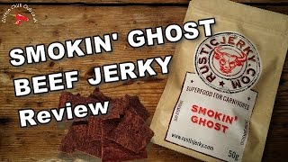 Smokin' Ghost Beef Jerky Review