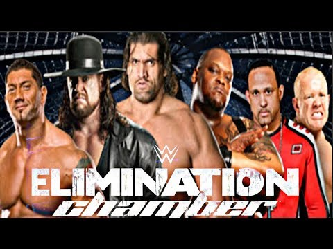 WWE No Way Out Elimination Chamber full match hd