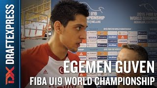 Egemen Guven 2015 FIBA U19 World Championship Interview
