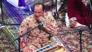 Ustad Rahat Fateh Ali Khan singing Teri Meri live in concert on April 8th, 2017 in Newark, New Jersey.