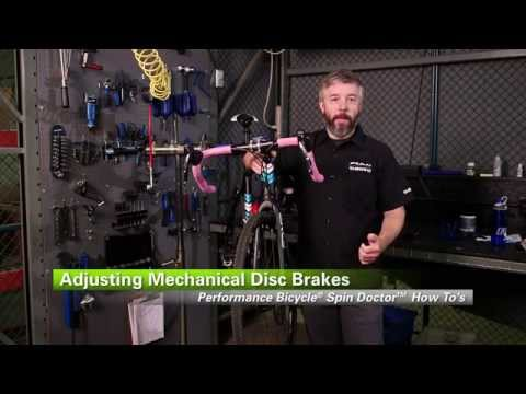 How To Adjust Mechanical Disc Brakes