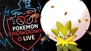Enter ELDEGOSS! Pokemon Sword and Shield! Eldegoss Pokemon Showdown Live! by PokeaimMD