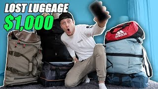 Video I Bought $1000 Lost Luggage at a Storage Unit Auction and Found This… (Buying Lost Luggage Auction) MP3, 3GP, MP4, WEBM, AVI, FLV Juni 2019