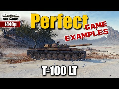 WOT: 2 x T-100 LT, best World of Tanks recordings