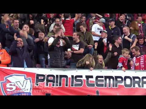 Bunnikside tijdens FC Utrecht - SC Heerenveen