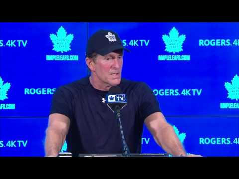 Video: Babcock: I think its important to play in the Olympics...but I don't own any teams
