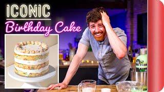 A Chef Tries to Bake This ICONIC Cake | Momofuku Milk Bar Birthday Cake by SORTEDfood