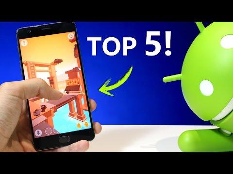 Mejores 5 JUEGOS NUEVOS para Tu Android - TOP 2017