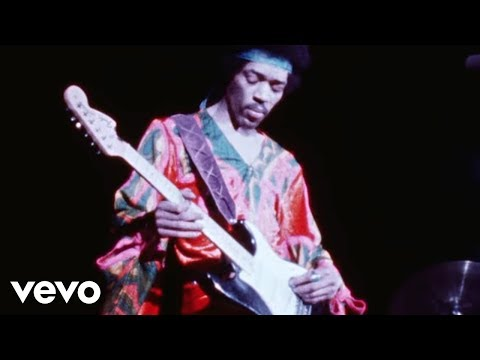 the jimi hendrix experience - purple haze live @ atlanta pop festival