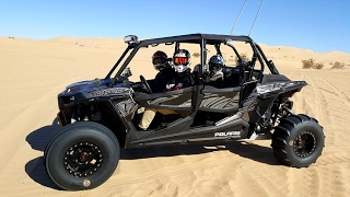 10. 2017 RZR XP 1000 Turbo Glamis California